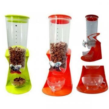 Dispenser simplu pentru cereale cu ceasca inclusa de la Startreduceri Exclusive Online Srl - Magazin Online - Cadour