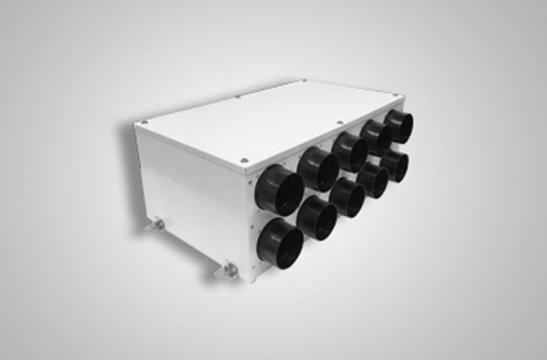 Distribuitoare ventilatie HDPE PLMP 150mm 10 - 75mm