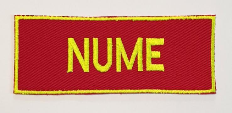 Emblema nominala SMURD - vernil neon de la Hyperion Trade