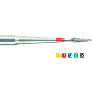 Freze dentare diamantate Flame Needle 539 F 007(1/10mm) de la Sirius Distribution Srl