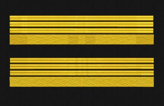 Broderie Grade maneca pentru Colonel MAPN
