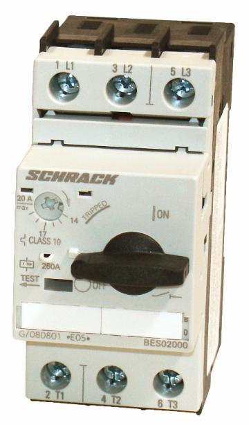 Intrerupator protectie motoare Schrack BES02000