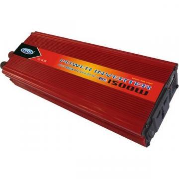 Invertor auto 12V ~ 220V cu priza si USB 1500W ONS