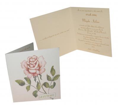 Invitatii de nunta personalizate INVN031 de la Apia Prest Srl