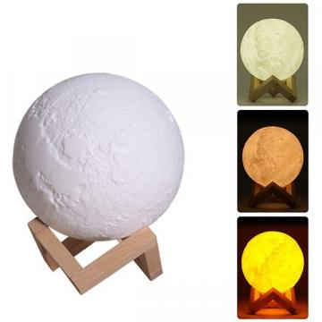 Lampa de veghe in forma de luna cu umidificator Luna Moon 3D de la Startreduceri Exclusive Online Srl - Magazin Online - Cadour