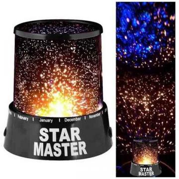 Lampa veghe Star Master cu proiectie stele de la Startreduceri Exclusive Online Srl - Magazin Online - Cadour