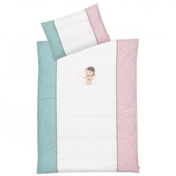 Lenjerie de pat copii - Ursuletul Bruno de la A&P Collections Online Srl-d