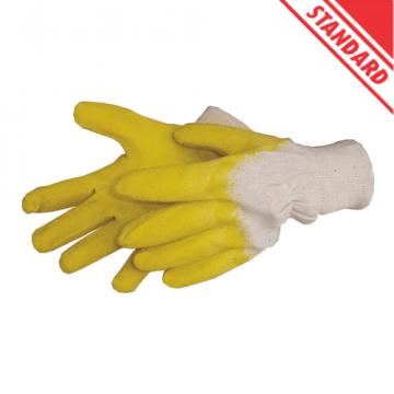 Manusi bumbac cu latex protectie LT74170 de la Altdepozit Srl