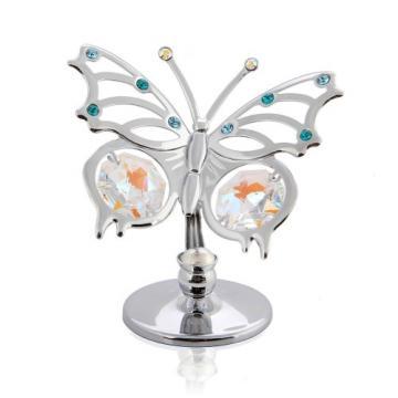 Marturie fluturas cu cristale Swarovski de la Krbaby.ro - Cadouri Bebelusi