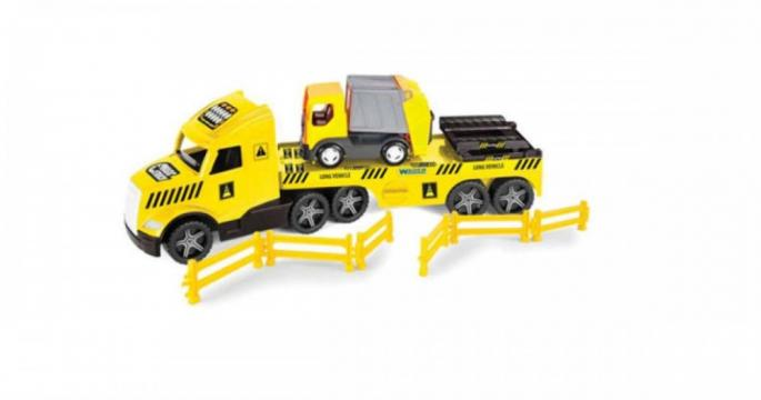 Jucarie masina de reciclare cu lumini -Wader Magic Truck