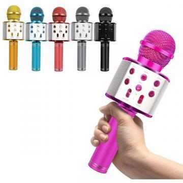 Microfon wireless pentru karaoke cu bluetooth de la Startreduceri Exclusive Online Srl - Magazin Online - Cadour