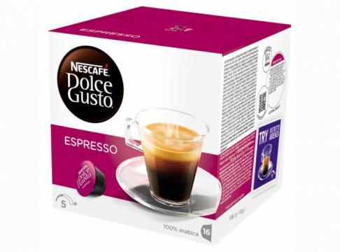 Cafea Nescafe capsule Dolce Gusto Espresso 16 buc, 96 g de la KraftAdvertising Srl