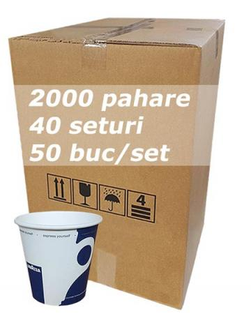 Pahar carton 4oz Lavazza City bax 2000buc