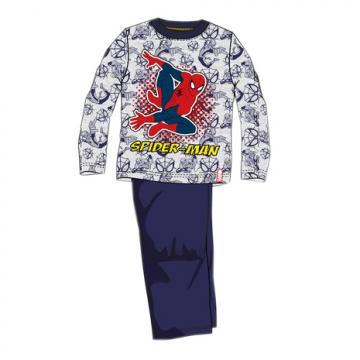 Pijama baieti, Spiderman, bumbac, bleumarin de la A&P Collections Online Srl-d