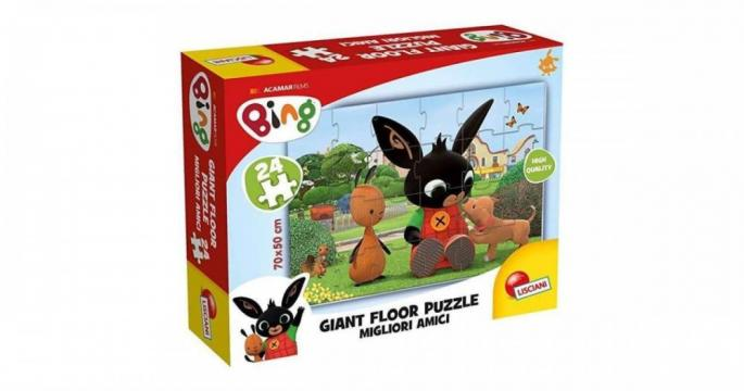 Puzzle Bing Cei mai buni priteni Giant Floor, 24 bucati de la Pepita.ro