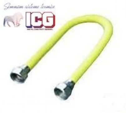 Racord extensibil gaz cu protectie 30-60 cm, 3/4-3/4 FF