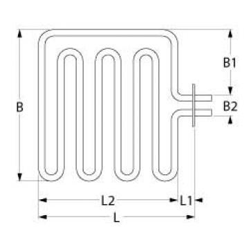 Rezistenta electrica pentru cuptor 2700W, 400V