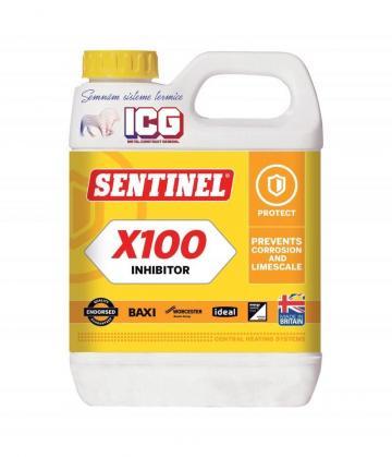 Inhibitor sisteme de incalzire Sentinel X100 de la ICG Center