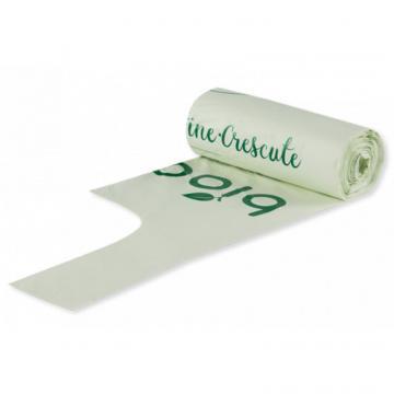 Saci biodegradabili cu maner 140litri (5 buc)