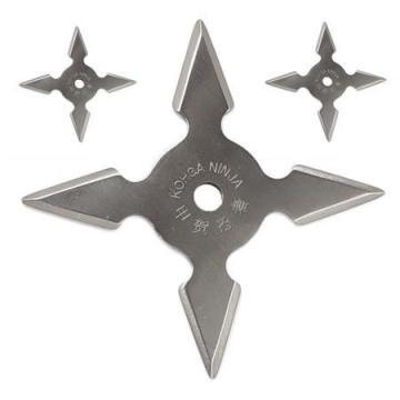 Set 3 stelute ninja,pentru aruncat la tinta 4 colturi de la Dali Mag Online Srl
