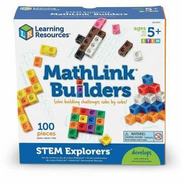 Joc set MathLink - Constructii 3D de la A&P Collections Online Srl-d