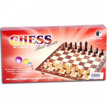 Set Sah din Lemn mic de la Chess Events Srl
