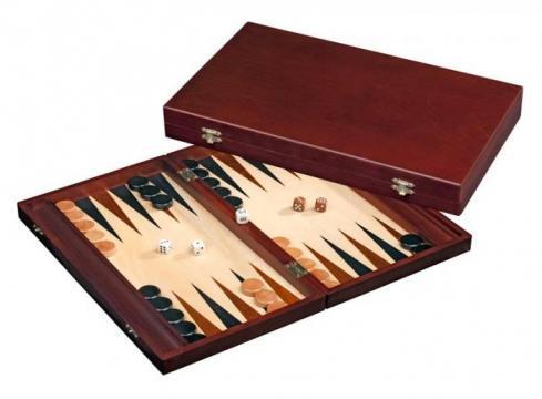 Set joc table Backgammon Tilos 41 x 48 cm de la Chess Events Srl