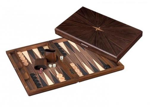 Set joc table backgammon Iraklia 49x60 cm de la Chess Events Srl