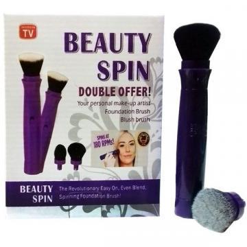 Set pensula de make up electrica rotativa Beauty Spin de la Startreduceri Exclusive Online Srl - Magazin Online - Cadour