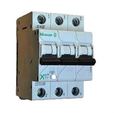 Siguranta automata 3P, 20A Moeller PL6-C20/3 de la Kalva Solutions Srl