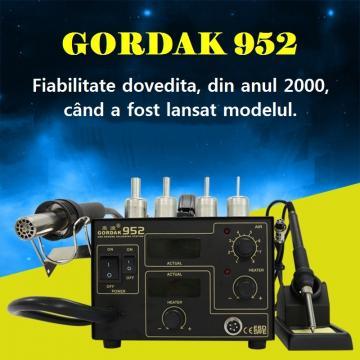 Statie de lipit cu aer cald si letcon Gordak 952 de la Retail Net Concept SRL