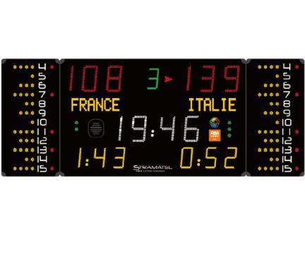 Tabela electronica multisport FIBA 452MB7120 Stramatel