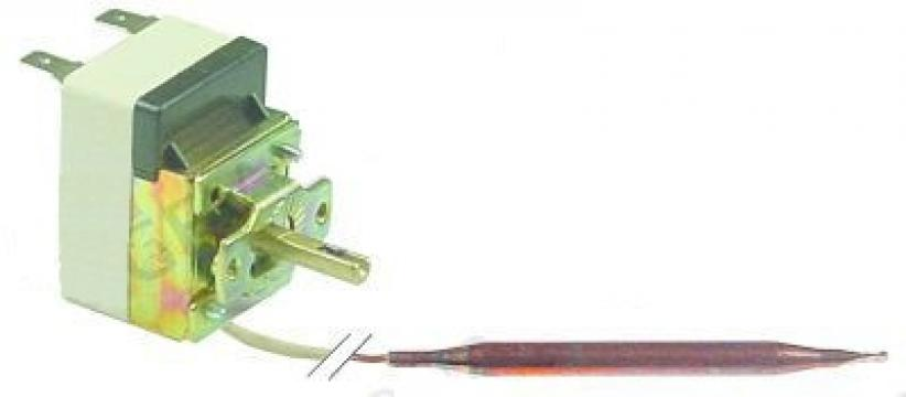 Termostat reglabil 30-90C, 1CO, 16A, bulb 6mmx95mm