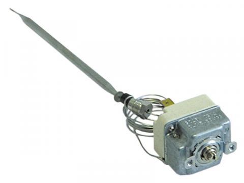 Termostat reglabil 30-95C, 1CO, 16A, M9x1, bulb 6mmx138mm