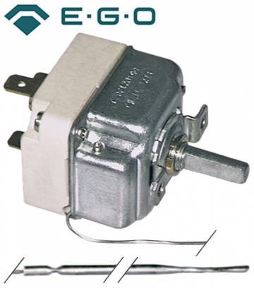 Termostat reglabil 50-280C, 1NO, 16A, bulb 3mmx228mm 375216