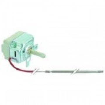 Termostat reglabil 58-258*C, 1NO, 16A, bulb 3.1mm x 226mm