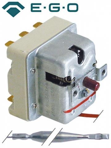 Termostat de siguranta 240C, 3poli, 20A, bulb 6mmx79mm
