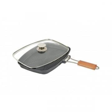 Tigaie grill Grunberg din aluminiu cu interior teflon de la Startreduceri Exclusive Online Srl - Magazin Online - Cadour