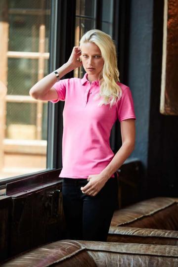 Tricou Women's Double Pique Polo de la Top Labels