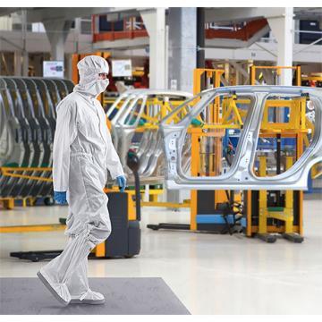 Covor decontaminare Sticky mat, gri, 45 x 115 cm de la Sanito Distribution Srl