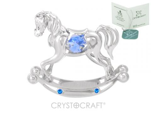 Figurina Calut cu cristale Swarovski