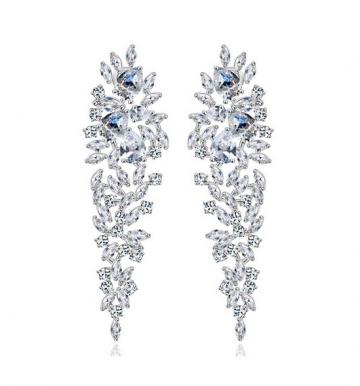 Cercei Statement Diamond Queen de la Luxury Concepts Srl