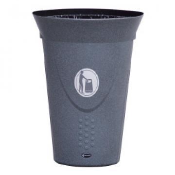 Cos de gunoi fara capac Luna 60 litri Mevatec