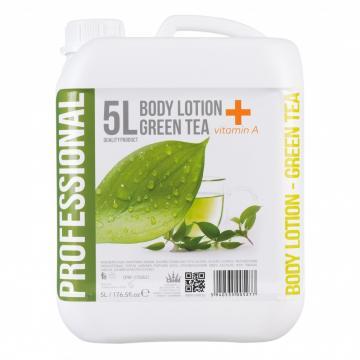 Crema de corp 5 litri - Green Tea + Vitamina A de la Sanito Distribution Srl
