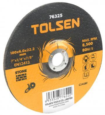 Disc abraziv cu centru coborat (piatra) 125x6x22 mm de la Micul Gospodar