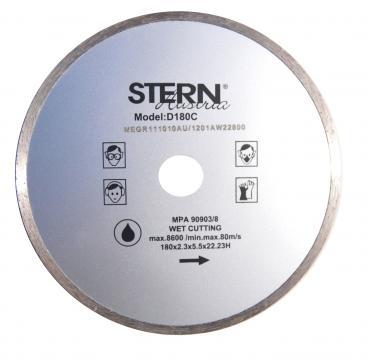 Disc diamantat continuu taiere umeda Stern 180 mm de la Micul Gospodar