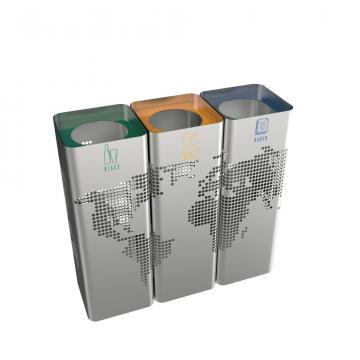 Cos colectare selectiva Ecomonde SST, 35L, 60L, 100L