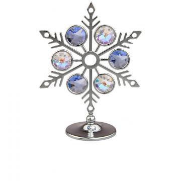 Decoratiune Craciun Fulguletul cu cristale Swarovski
