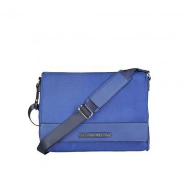 Geanta de umar pentru laptop Trussardi Jeans (blue)