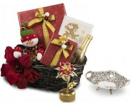 Cos de Craciun Snowman's Gifts de la Luxury Concepts Srl
